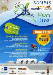 gambar photo foto fun bike kompas bandung share the road 6 juni 2010